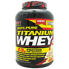 SAN 100% PURE Titanium Whey 5lb BCAA's/Nitrogen Retention *CHOOSE FLAVOR*