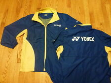 SAP Open tennis TRACK JACKET New w/o Tags NWOT Blue Yonex XXS/XS Extra Small Men