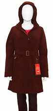 THE NORTH FACE Women's Pysix Insulated Jacket Long Coat Black Brown Parka NEW