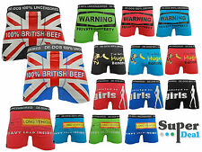 CHEAP Mens DE-DOS Designer Novelty Rude Funny Boxers Trunks Shorts Underwear NEW