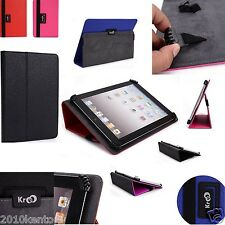 New Universal Adjustable Claw Grip Folio stand Case cover for Zeki 10.1 Tablet