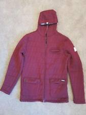 NEW NWT Forum Snowboard Baricade Quilted Hooded Jacket Our Blood - Mens S M