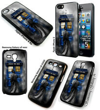 Tardis Doctor Who in the Mist apple iphone 5 5s 5c 6 Galaxy note 3 S3 S4 S5 case