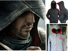 Assassin's Creed 3 Conner Kenway Coat Jacket Hoodie Costume Youth/Adult Cos