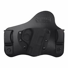 Leather & Kydex Hybrid IWB Concealed Gun Holster for S&W M&P Shield 9mm / .40