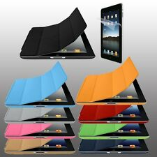 iPad 3 4 Smart Stand Cover + iContour UltraThin Hard Back Case +Screen Protector