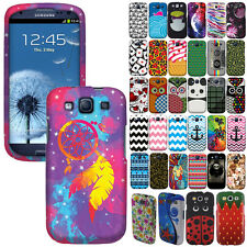 For SAMSUNG GALAXY S 3 I9300 T999 Cover Hard Design Snap On Protector Case