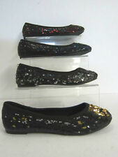 GIRLS SHOES WITH SEQUINS  (H2186)