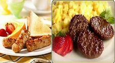 FULLY COOKED HEAT n SERVE BREAKFAST SAUSAGE - LINKS or PATTIES - 5 LBS - FROZEN