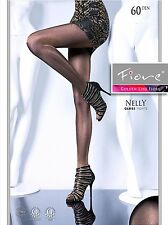 Fiore Nelly High Glossy Opaque 60D Shiny TIGHTS in 3 colors Size S M L Hosiery