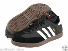 Children's Adidas Samba Classic Low Profile Soccer Black White 036516 Sz 12.5-6