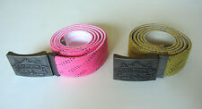Howies Original Hockey Lace Belt! BRAND NEW, BLACK WHITE PINK OR YELLOW!