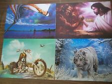 Lenticular 3D Pictures/Posters Beautiful Stereoscopic effect 30 different photos