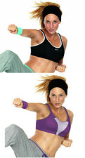 Shock Absorber Sports Bra S4490. Sizes 32-40 B-HH. Black or Purple. Firm Support
