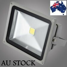 50W Outdoor LED IP65 Floodlight Cool or Warm White High Power Spotlight 240V