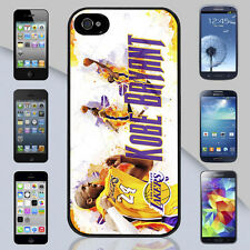 New Kobe Bryant Los Angeles LA Lakers iPhone 4s 5s 5c Galaxy S3 S4 S5 Case