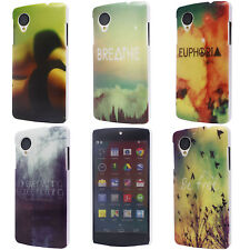 Fit Briefs Ditch Sky Smoke Bird Image Hard Back Cover Case for LG Google Nexus 5