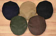 MENS TRADITIONAL CORDUROY FLAT CAP MADE IN ENGLAND CHOICE OF COLOUR AND SIZES