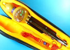 Chinese Yunnan Ethnic Gourd Flute,Purple Bamboo 3 Octaves Hulusi, Detachable