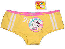 NWT SANRIO HELLO KITTY RIBBON 76 YELLOW BOYSHORT PANTY UNDERWEAR GIFTS S, M, L