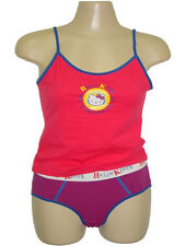 NWT SANRIO HELLO KITTY CAMI TANK TOP + BOY BRIEF PANTY UNDERWEAR SLEEP SET S, M