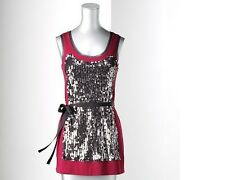 Simply Vera Wang Embellished Sequin Tank - Petite (New W/Tags)(Retails $44.00)