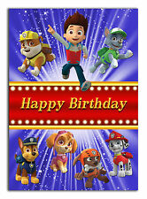 180 paw patrol Son Grandson Nephew Daughter Grandaughter Niece 2nd 3rd 4th 5th 6
