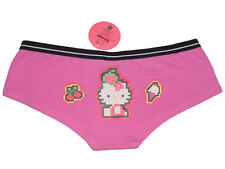 NWT SANRIO HELLO KITTY DIGITAL CHERRY PINK BOYSHORT PANTY UNDERWEAR GIFTS L