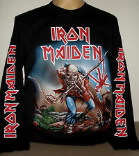 Iron Maiden The Trooper long sleeve T-Shirt Size S M L XL 2XL 3XL Metal Band new