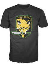 Metal Gear Solid Fox Hound Mens T-shirt, Black