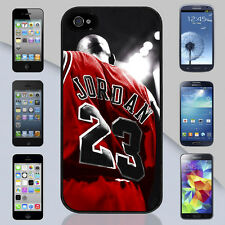 Michael Jordan Jersey Chicago Bulls NBA Apple iPhone & Samsung Galaxy Case Cover