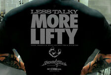 Less Talky More Lifty - TShirt by Ironville Clothing Co.