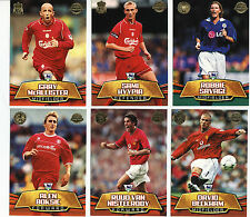 TOPPS PREMIER GOLD 2002 FOOTBALL CARDS L - Z NEAR MINT  MINT CONDITION