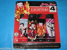 4 Novelty Lighters Electronic & Refillable