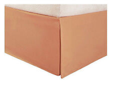 TAUPE SOLID TAILORED BED SKIRT 1000 TC 100% COTTON CHOOSE DROP LENGTH AND SIZE