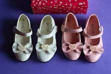 Girl's Formal Shoes Pink White Size 4yrs 5yrs 6yrs 7yrs 8yrs 9yrs New in Box!6#