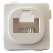 Cat6 Wall plate Jack Data Master Suit Clipsal Plates - Quality Pack  of 10 - 100
