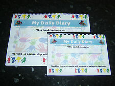 childminder daily diary childminding daily record book 0-3 years daily contact