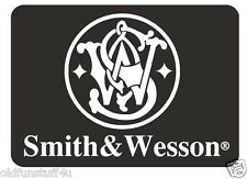 Smith & Wesson Vinyl Decal Sticker USA MADE Gun WEAPON Rifle PISTOL Ammo R475