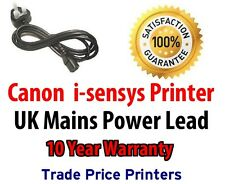 NEW UK Power Lead Cable For Canon i-sensys Series Printers isensys Laser Printer