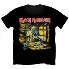 IRON MAIDEN Piece Of Mind T-shirt (S - XXL) NEW OFFCIAL Eddie The Trooper Icarus