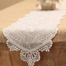 Lace Table Runners For Bridal Shower Wedding Occasion Table Dining Decoration