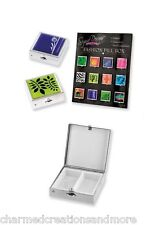 Assorted Compact Medical Supply Dual Compartment Fashion Pill Case Box