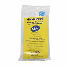 BREATHALYZER FRENCH NF APPROVED - ALCOPROOF BREATHALYSER - TRAVEL IN FRANCE
