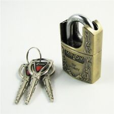 High quality zinc alloy door hign Security padlock with 3 keys Unbreakable