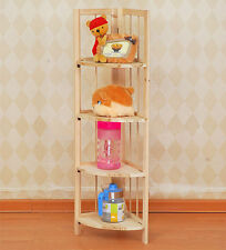 Wooden Folding Display Corner Bookcase Shelving Retail Unit Wholesale Clearance
