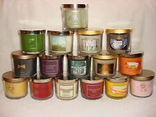 Bath & and Body Works Scented Candle 4 oz  A-M in Title - You Pick One Choice