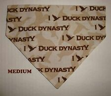 Over Collar Slide On Dog Cat Bandana I heart Duck Dynasty Robertson Pink Calls