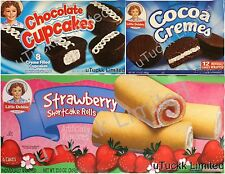 2 Boxes Little Debbie Snack Cake Wafer Brownie Donuts Muffins Pick Flavor