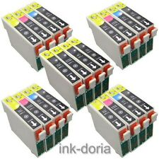 4 FULL SET + 4 BLACK SERIES INK CARTRIDGES FOR EPSON STYLUS INKJET PRINTER
